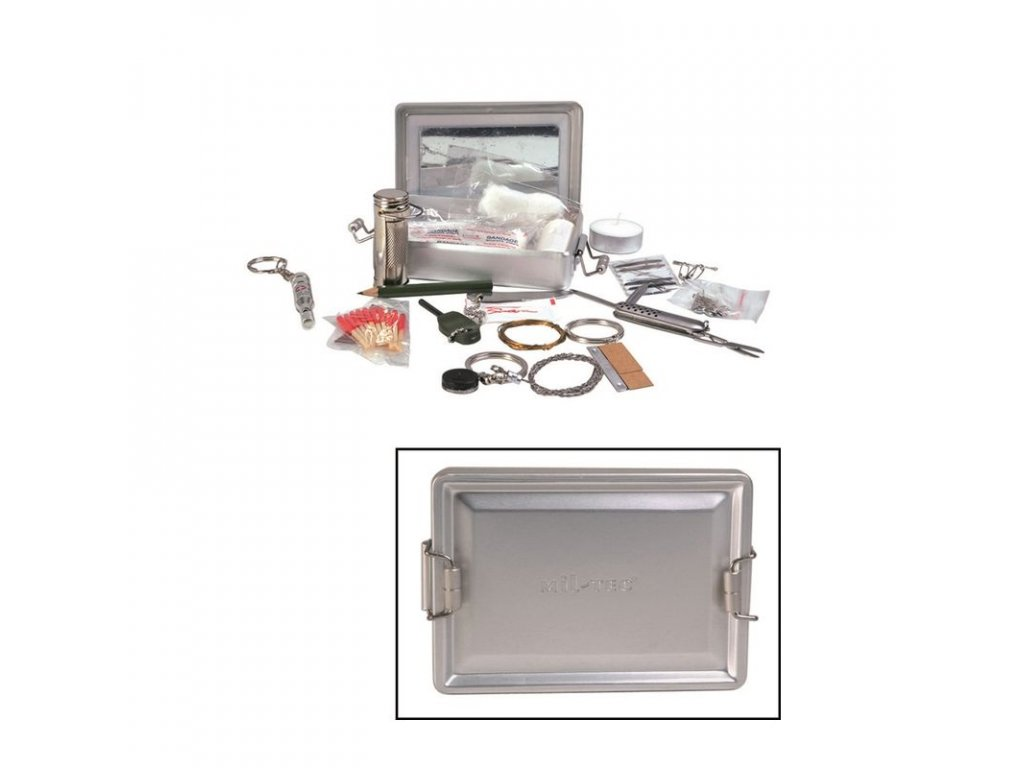 Survival Kit MIL-TEC box ALU