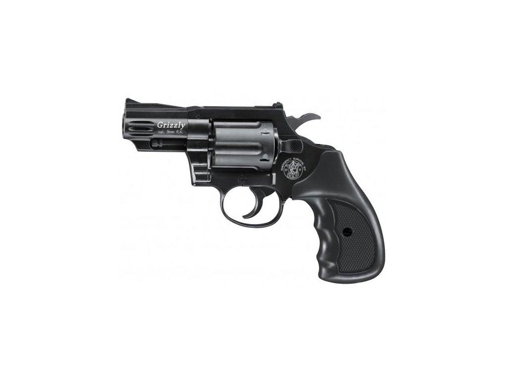 Plynový revolver Umarex Smith Wesson Grizzly černý cal.9 mm  R.K.