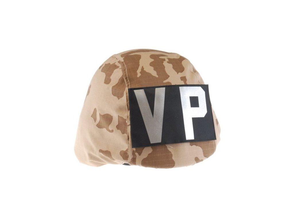 Povlak AČR 95 na přilbu s označením pro VP Desert