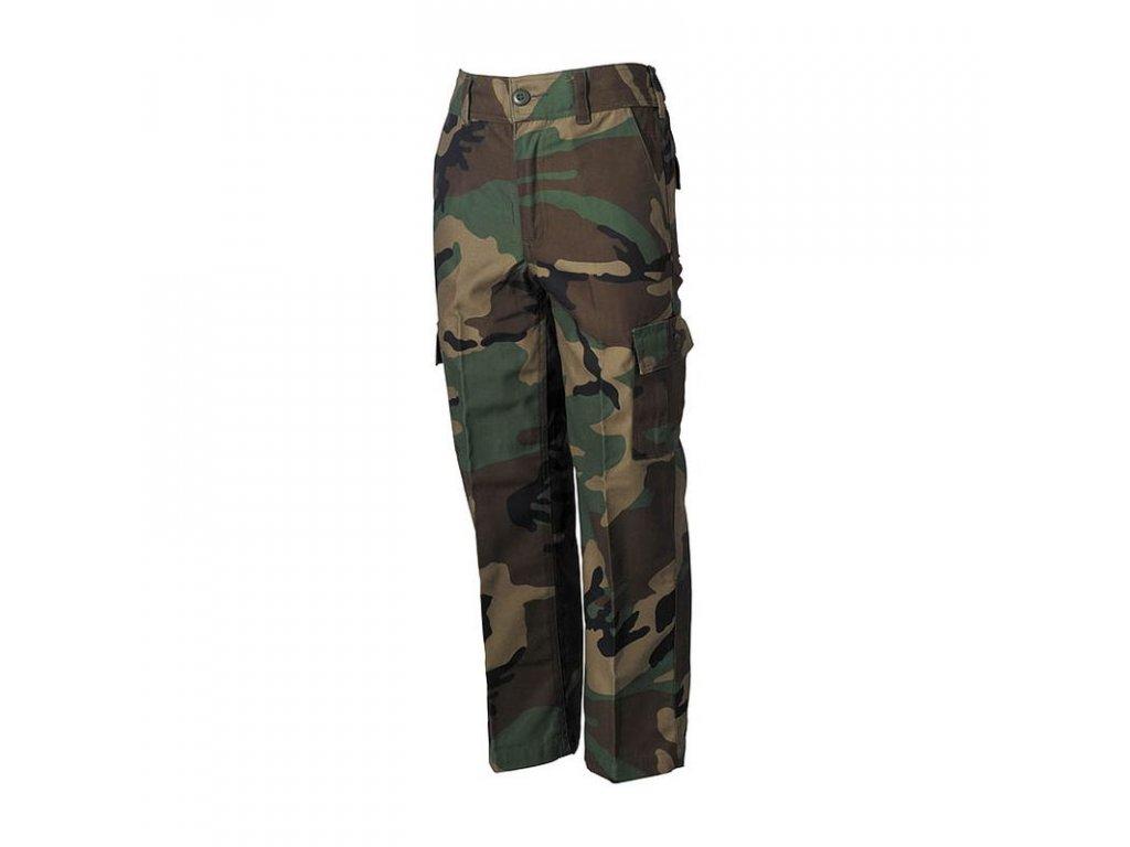 Kalhoty dětské Max-Fuchs BDU Woodland