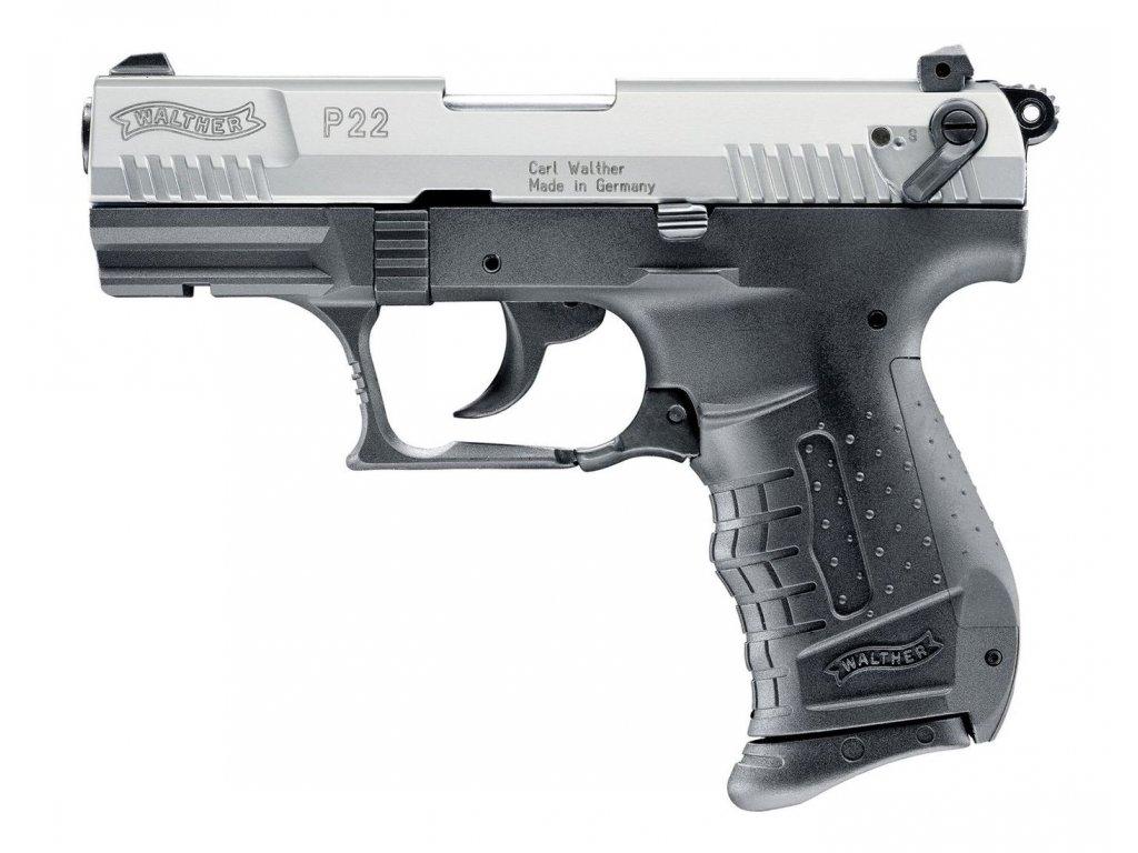 Plynova pistole Umarex walther p22 bicolor 1