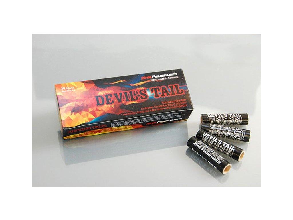 Pyro světlice Zink Devils Tail 20ks