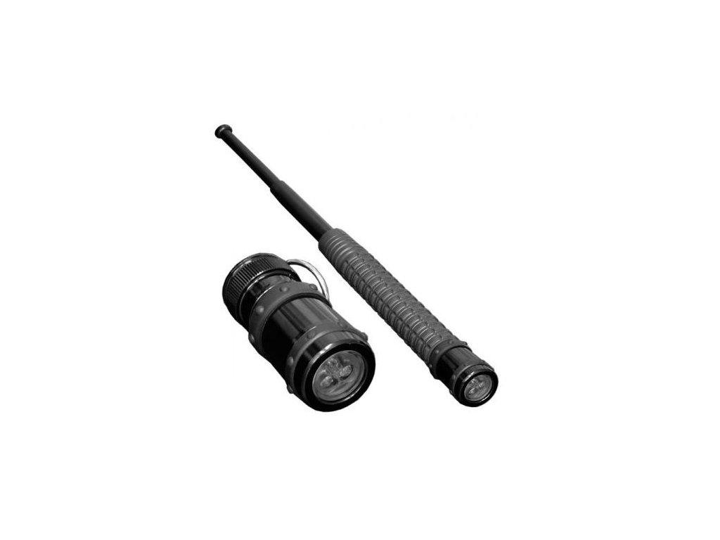 Přídavná svítilna ESP (koncovka) k obušku (kratší verze)