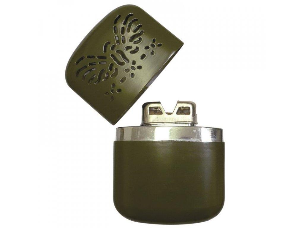 Kapesní ohřívač MIL-TEC benzínový PRO Olive