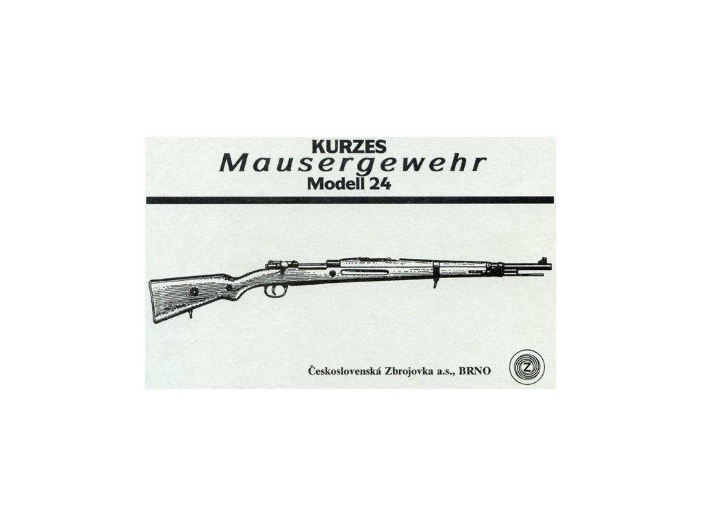 Manuál Mauser M24 - reprint