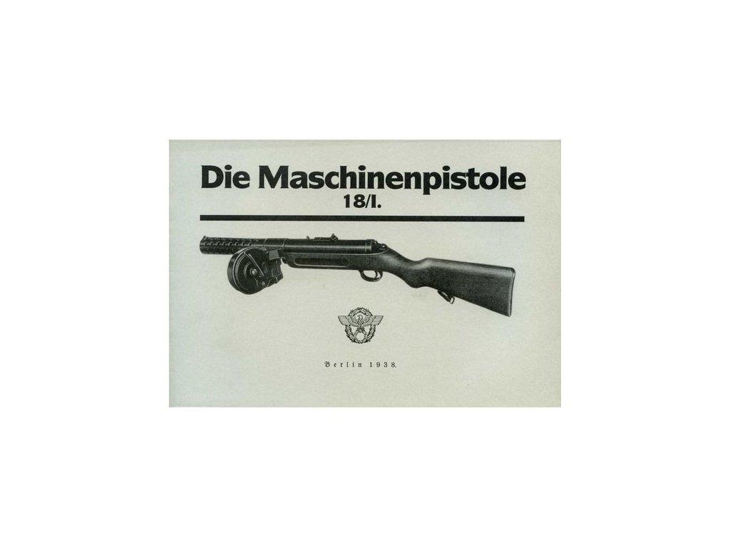 Manuál Samopal MP 18/1 - reprint