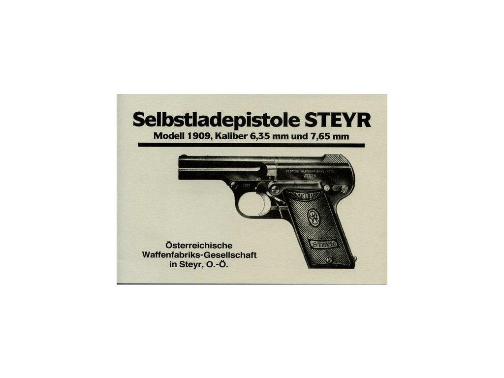 Manuál Steyr 1909 - reprint
