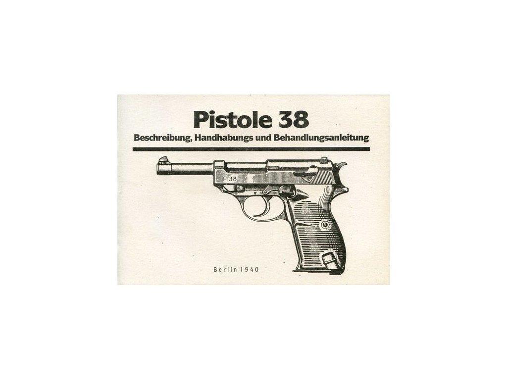Manuál Walther P-38 - reprint