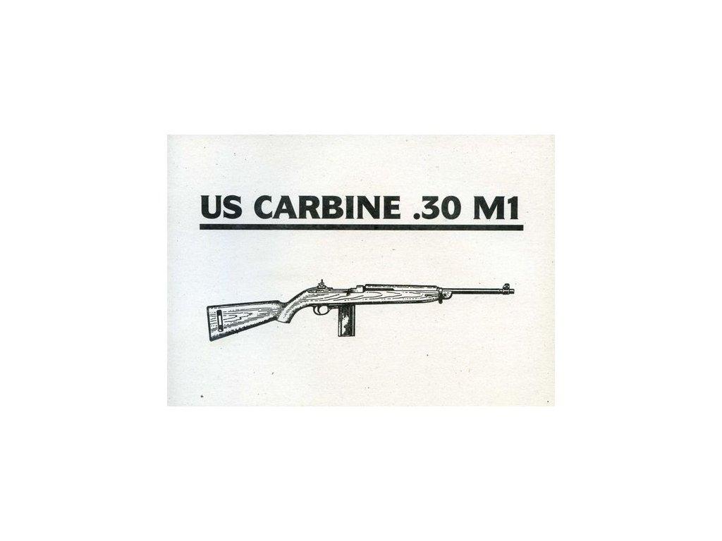 Manuál M1 Carbine - reprint
