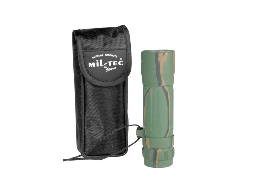 Dalekohled MIL-TEC Monokular 10 x 25 Woodland