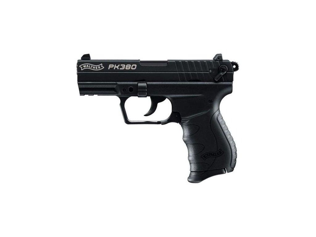 Plynová pistole Umarex Walther PK380 Černá cal. 9 mm