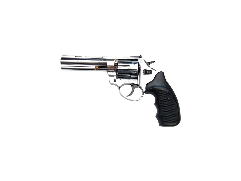 """Flobertkový revolver Atak Arms Zoraki R1 4,5"""" Chrom cal. 4mm"""