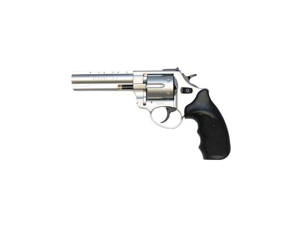 """Flobertkový revolver Atak Arms Zoraki R1 4,5"""" Satén cal. 4mm"""