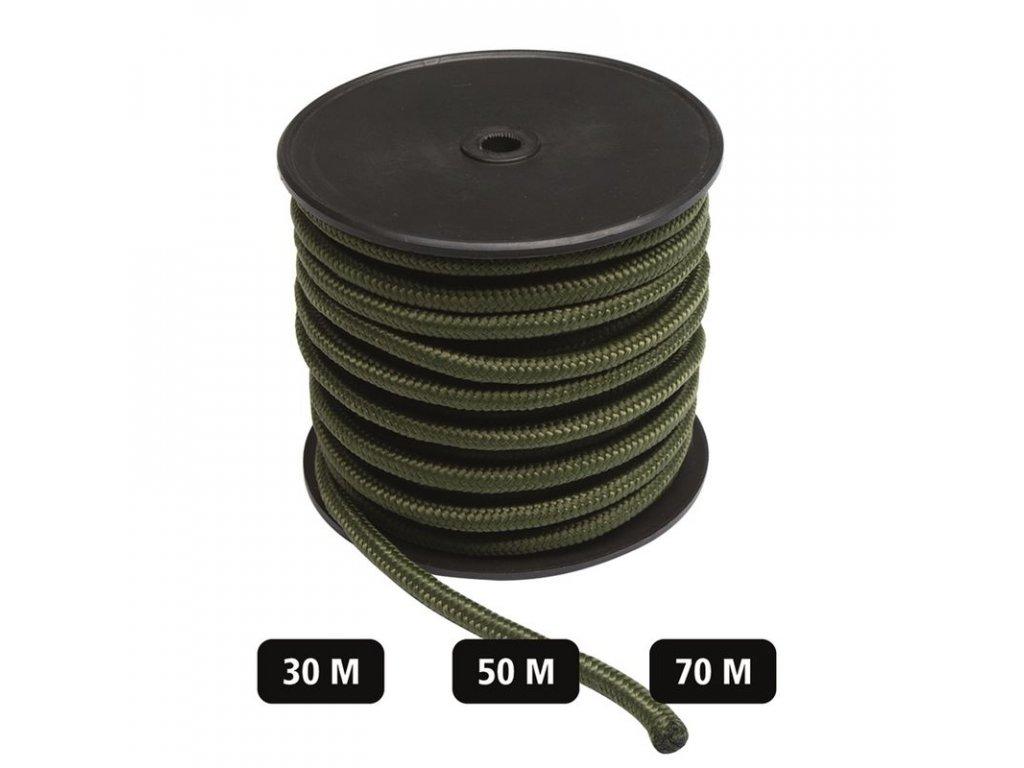 Šňůra Commando 7mm Olive - role 50m