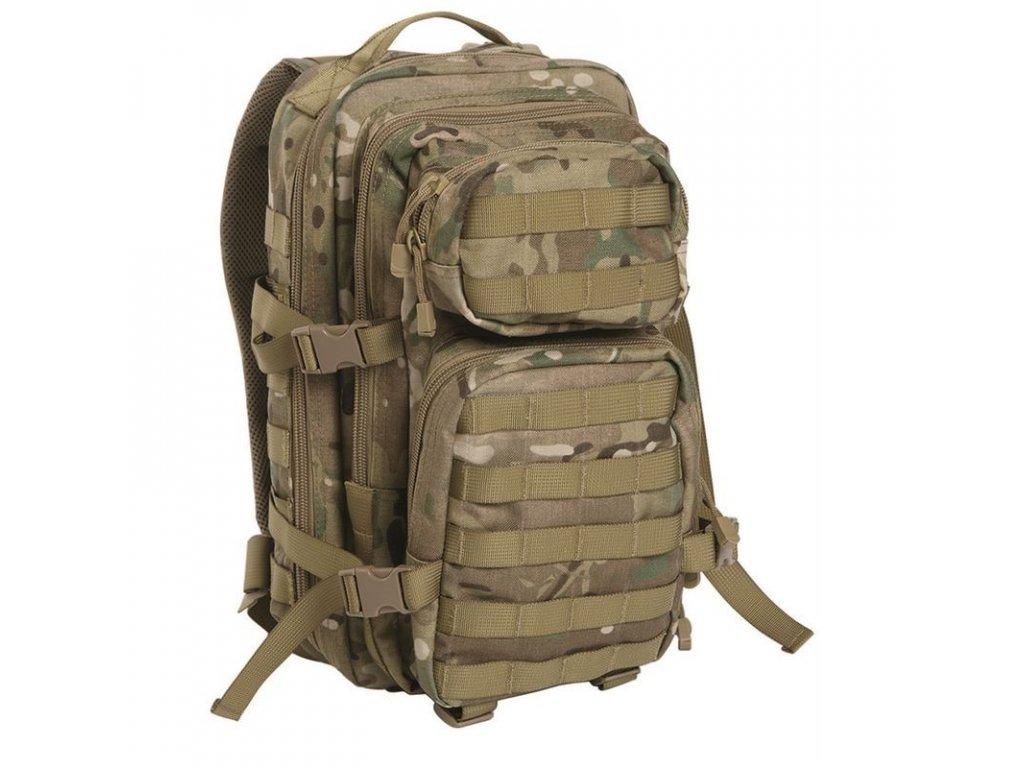 Batoh MIL-TEC US Assault Pack SM 20l Multitarn