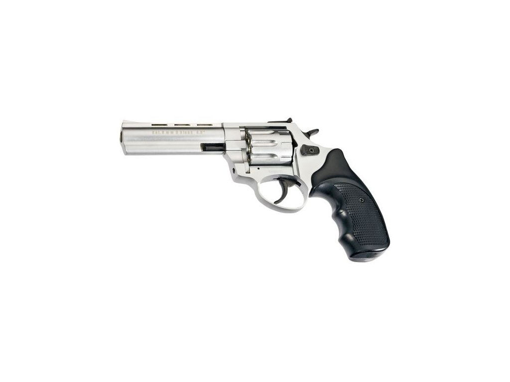 "Flobertkový revolver Atak Arms Zoraki R1 4,5"" Chrom mat cal. 4mm"