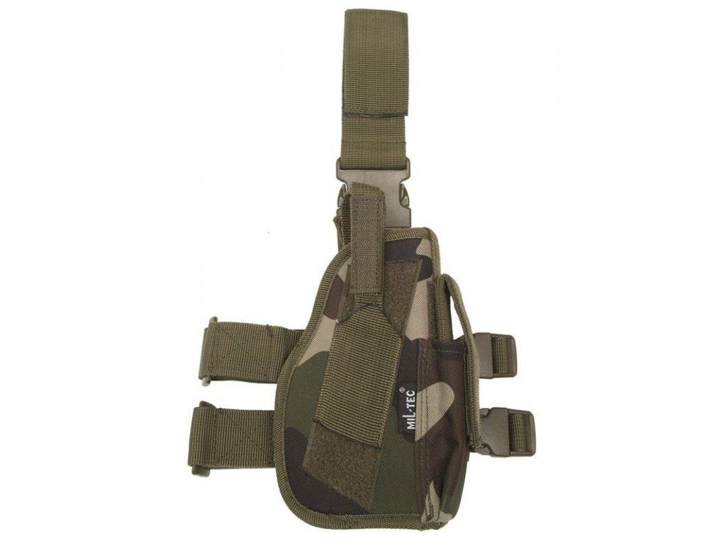 Pouzdro MIL-TEC na pistoli stehenní pravé CCE Camo