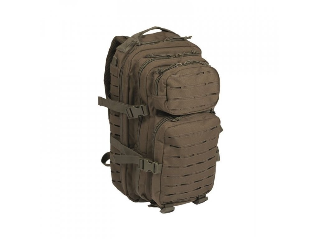 "Batoh MIL-TEC US Assault ""LASER CUT"" 20l Olive"
