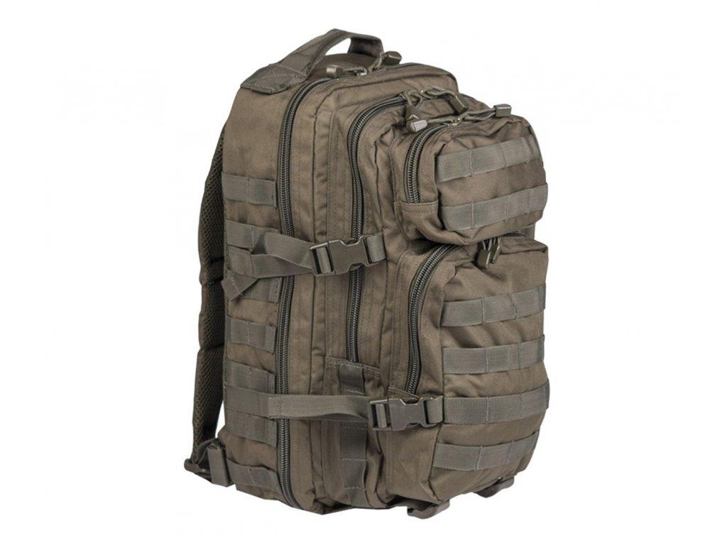 Batoh MIL TEC US Assault Pack SM 20l olive