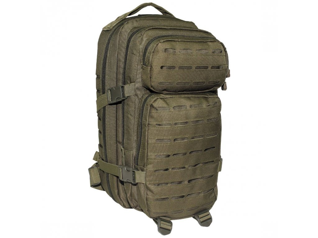 batoh us assault pack laser 30l olive max fuchs