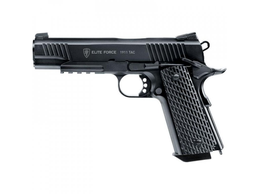 Airsoftová pistole Elite Force 1911 TAC AGCO2