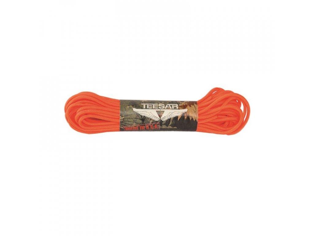 Šňůra MIL-TEC Paracord US Orange 30 m