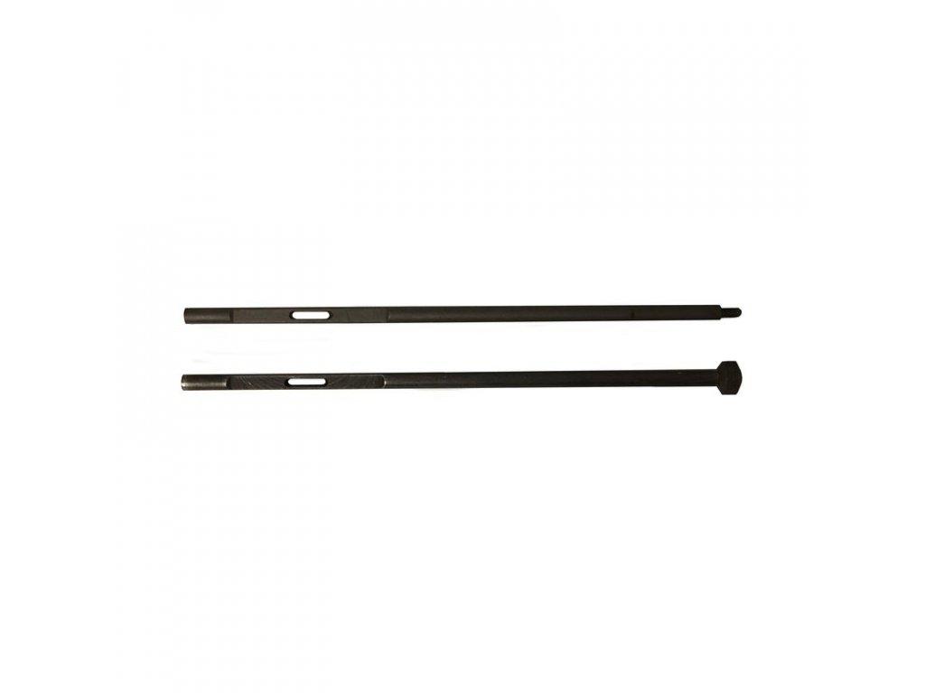 Vytěrák ČSLA 7,62 mm k Sa vz. 24 a vz. 26 s dílem k prodloužení
