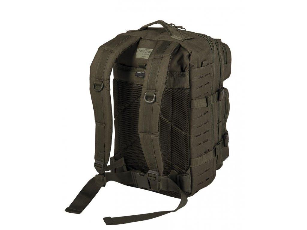 Batoh MIL TEC US Assault LASER CUT 36l Olive