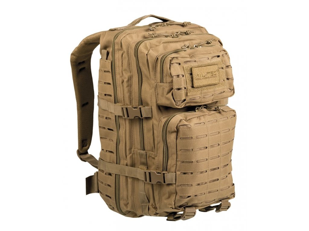 Batoh MIL TEC US Assault LASER CUT 36l Coyote