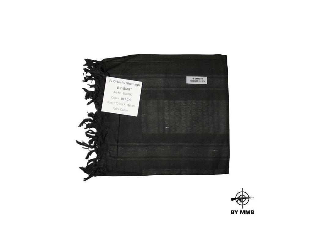 Šátek MMB SHEMAGH Černá/Černá