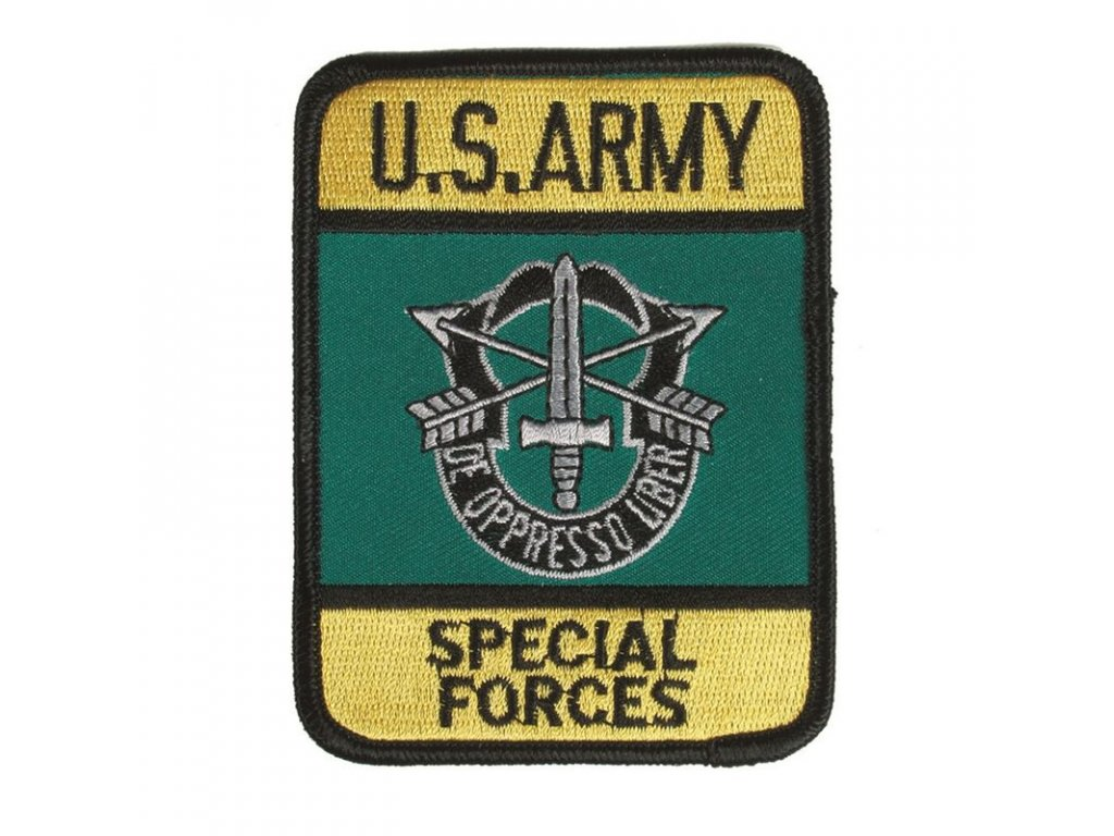 """Nášivka MIL-TEC """"Special Forces"""" barevná"""