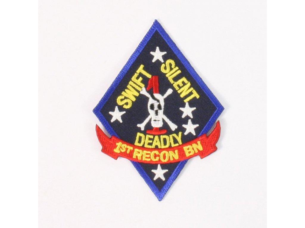 Nášivka US Army 1st Marine Recon Batalion