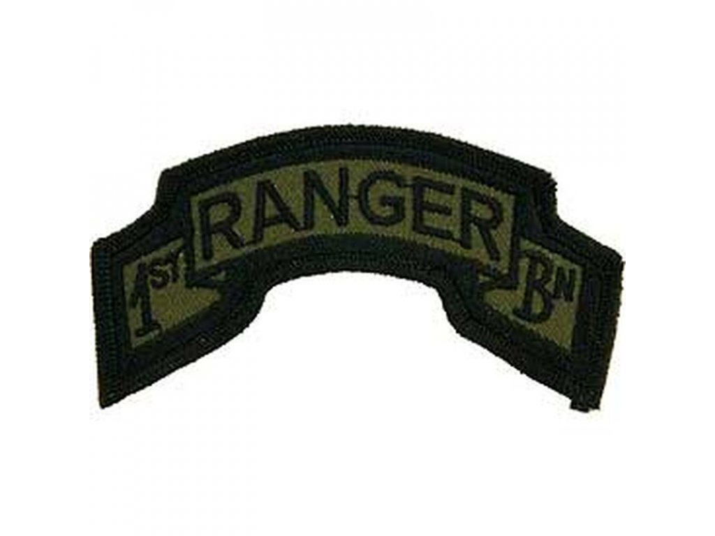 Nášivka US Army 1st Ranger Batalion
