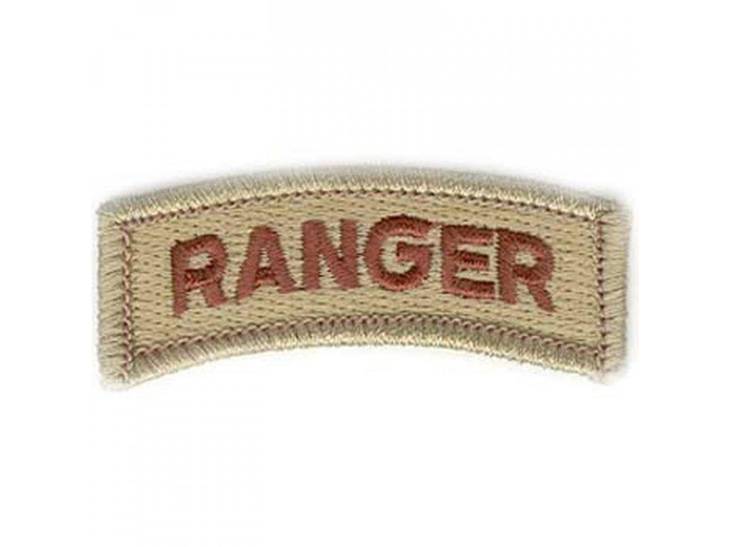 Nášivka US Army Ranger Desert