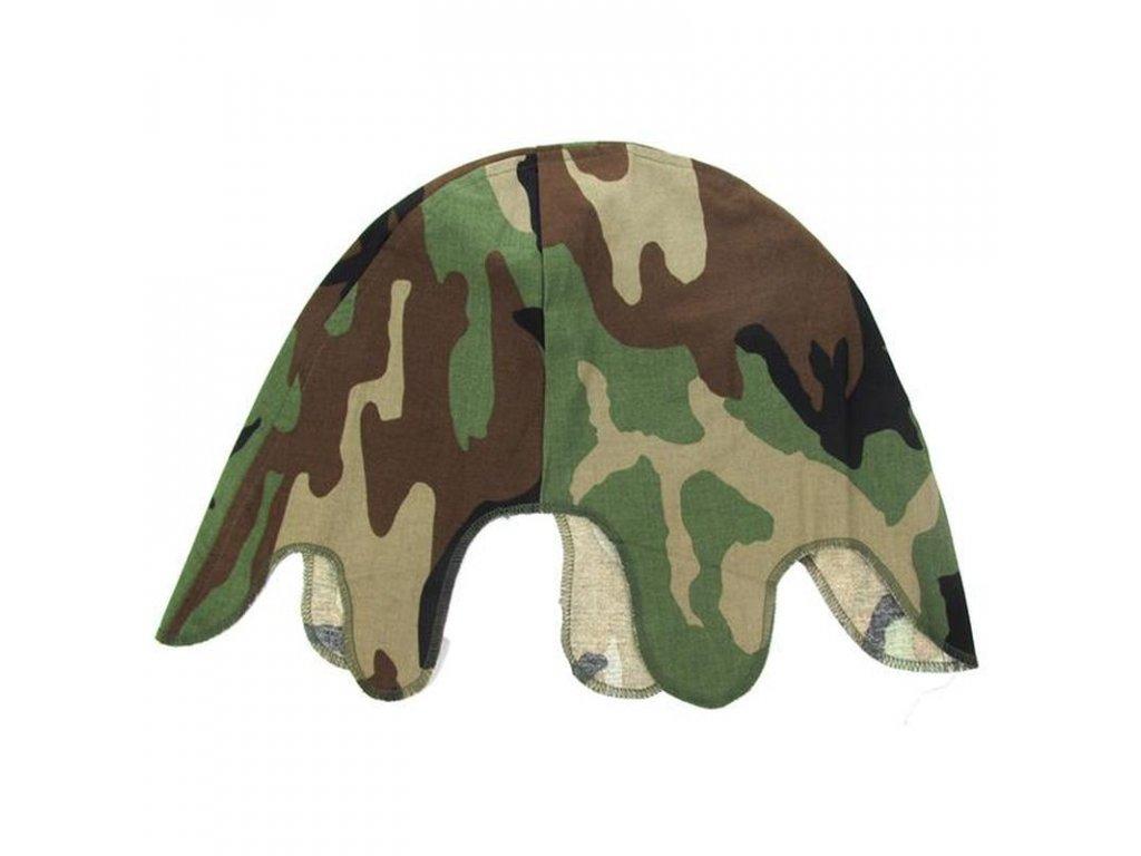 Povlak US Army na helmu M1 Woodland camo