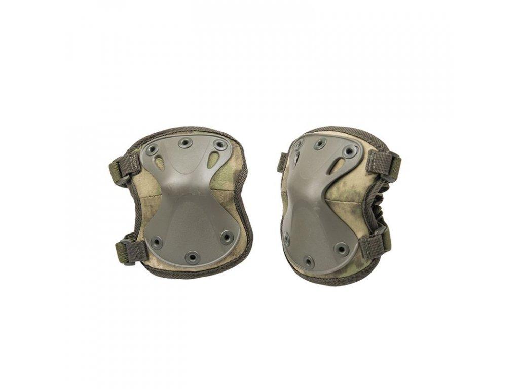 Chrániče kolen MIL-TEC PROTECT Mil-Tacs camo