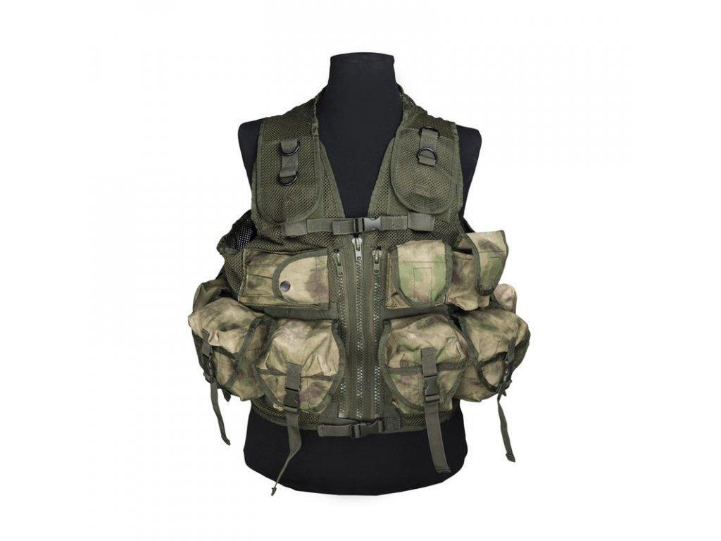 Taktická vesta MIL-TEC 9 kapes Mil-Tacs FG