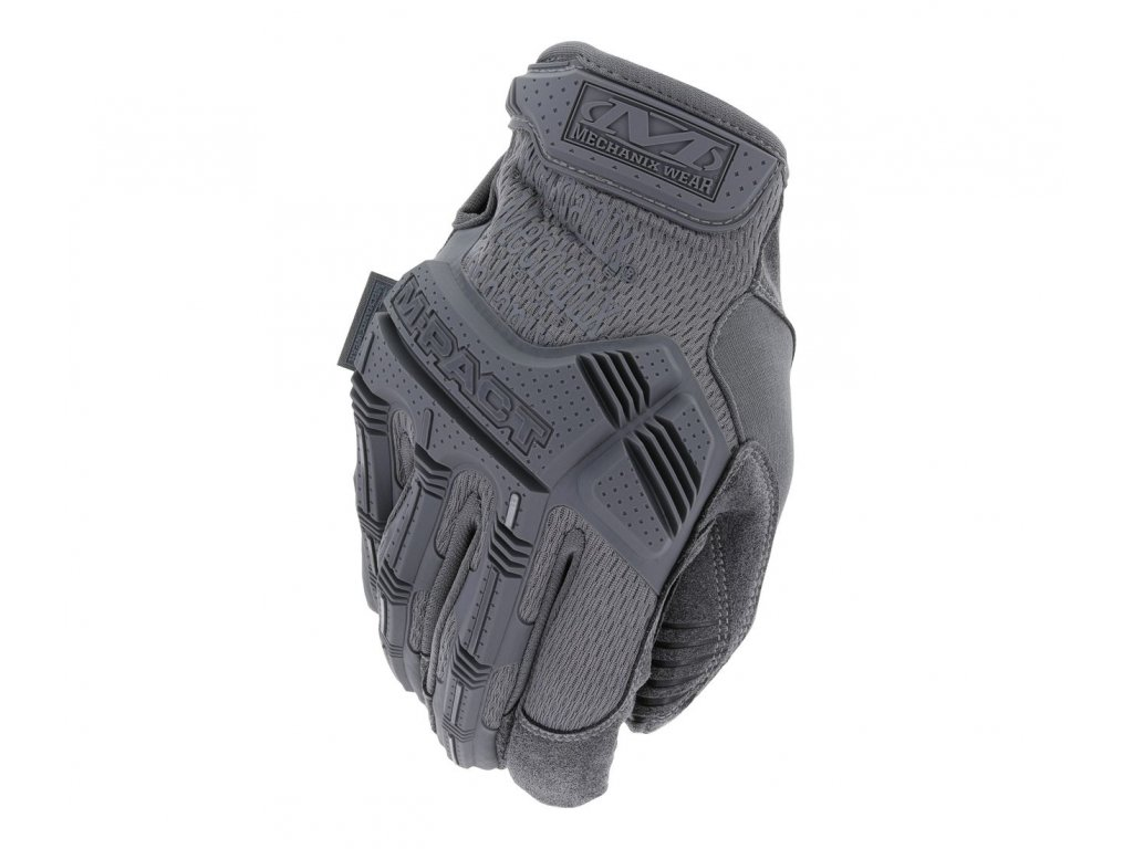Rukavice Mechanix Wear M Pact Wolf Grey 1