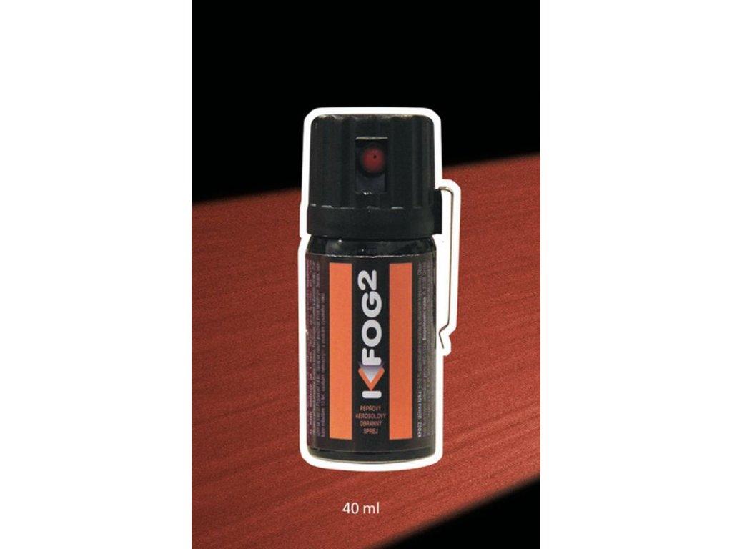 Pepřový obranný sprej K-FOG2 aerosolový 40 ml