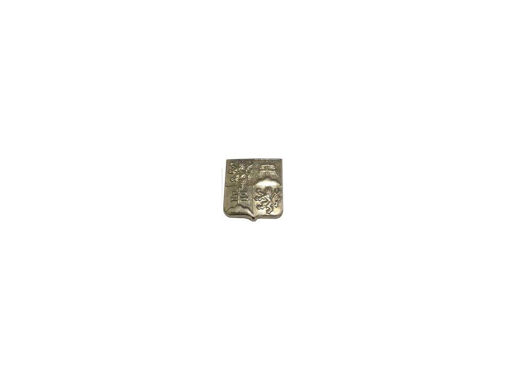 Odznak ČSFR na čepici stříbřitý