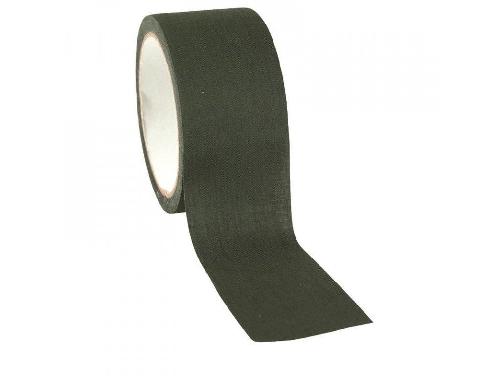 Textilní lepící páska MIL-TEC Olive 10M