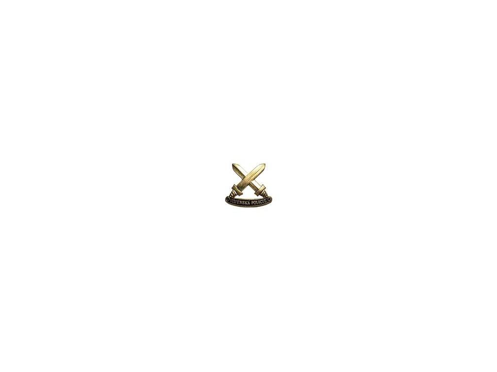 Znak rozlišovací AČR zlatový pro vojenskou policii