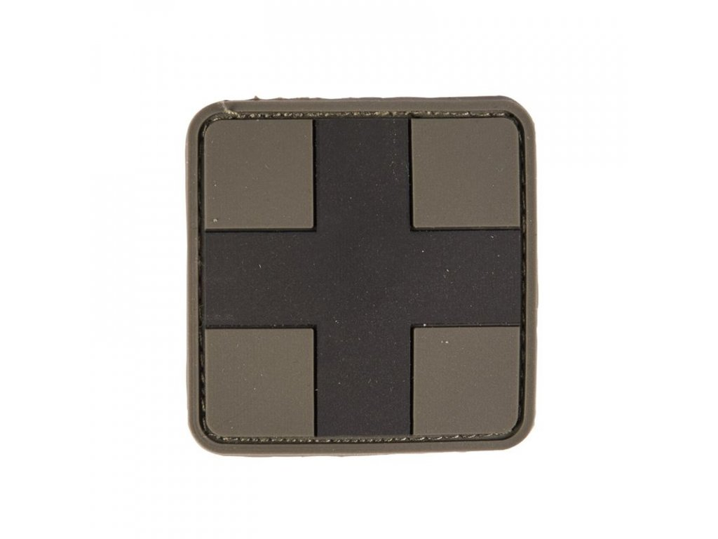 Nášivka MIL-TEC Medic 3D bojová Velcro - velká