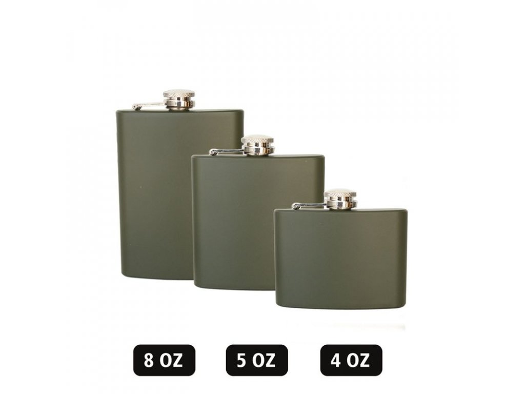 Likérka MIL-TEC Olive 8OZ 220 ml