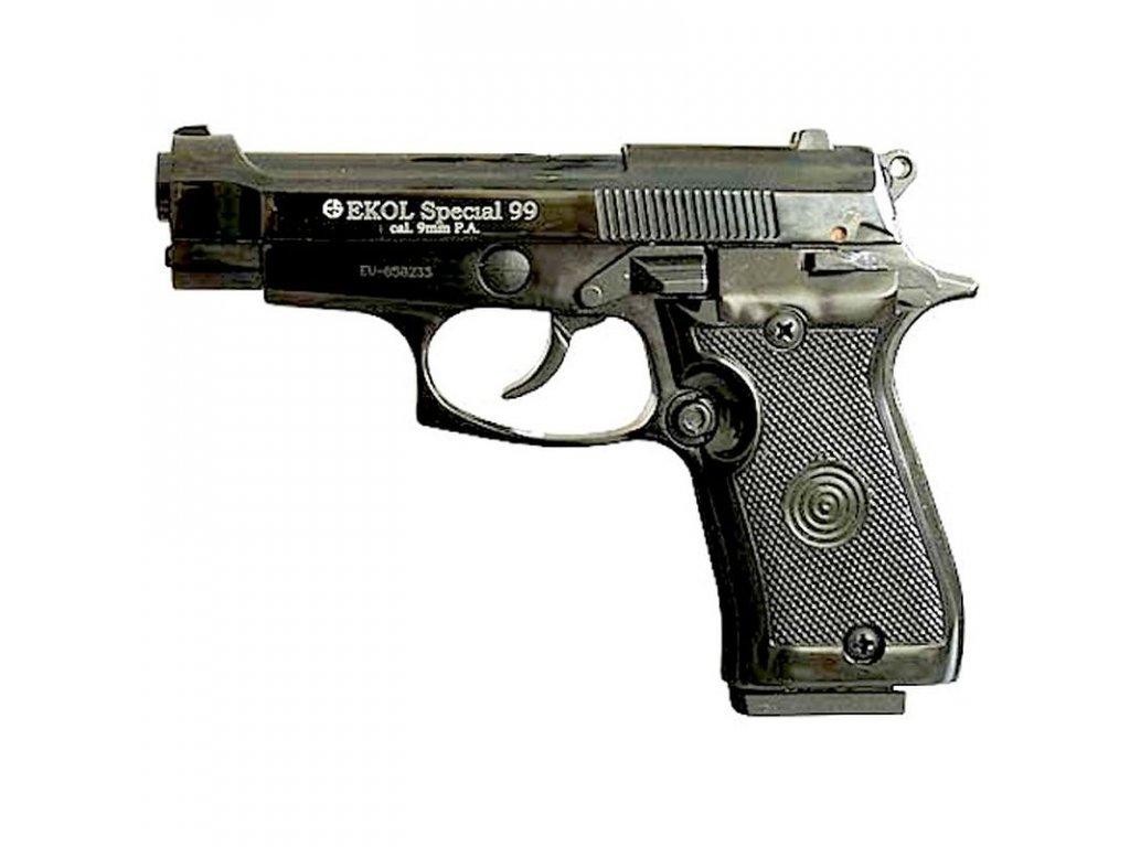 Plynová pistole Ekol/Voltran Special 99 Černá cal. 9 mm P.A.