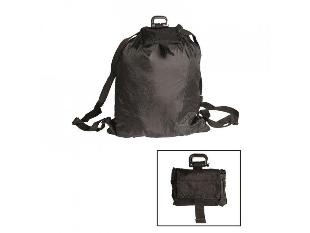 Batoh MIL-TEC ROLL-UP Black