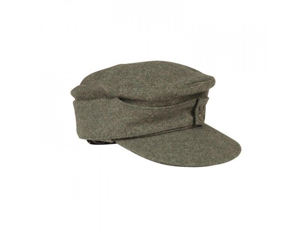Polní čepice MIL-TEC M43 Feldgrau - repro