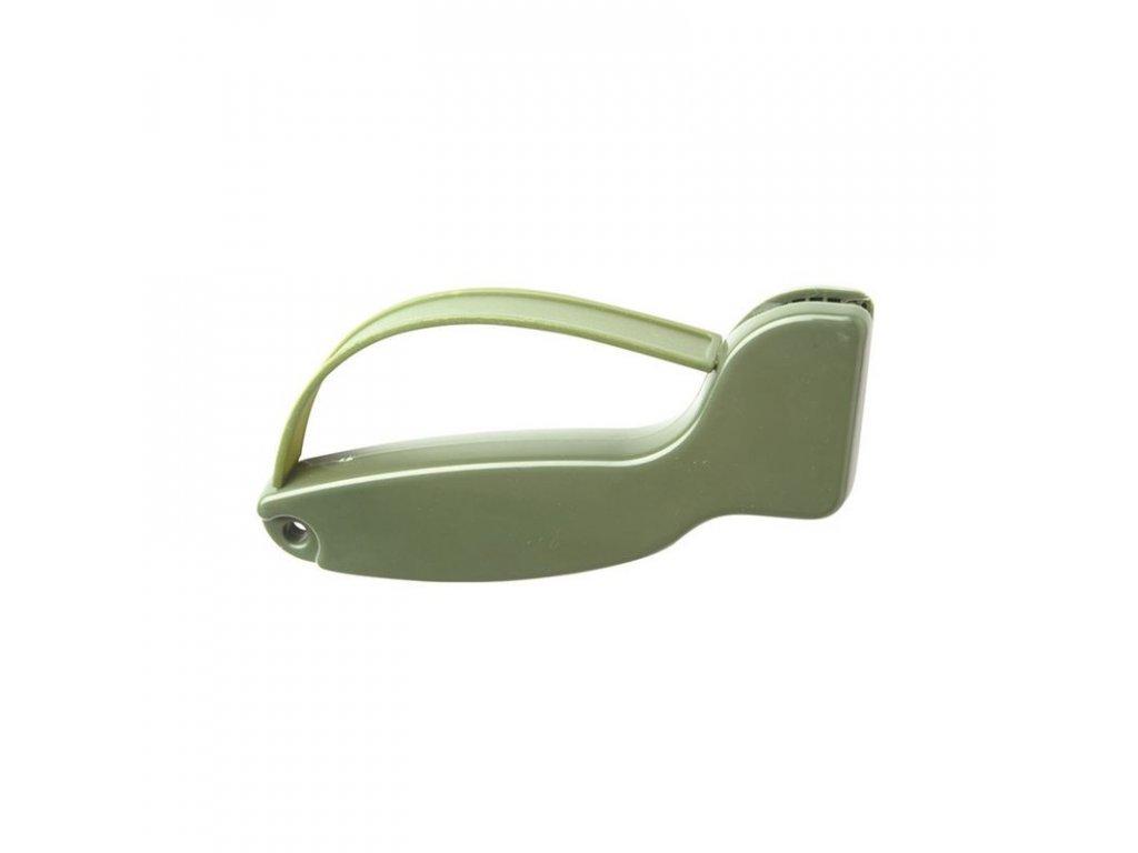Brousek na nože MIL-TEC D-typ Olive