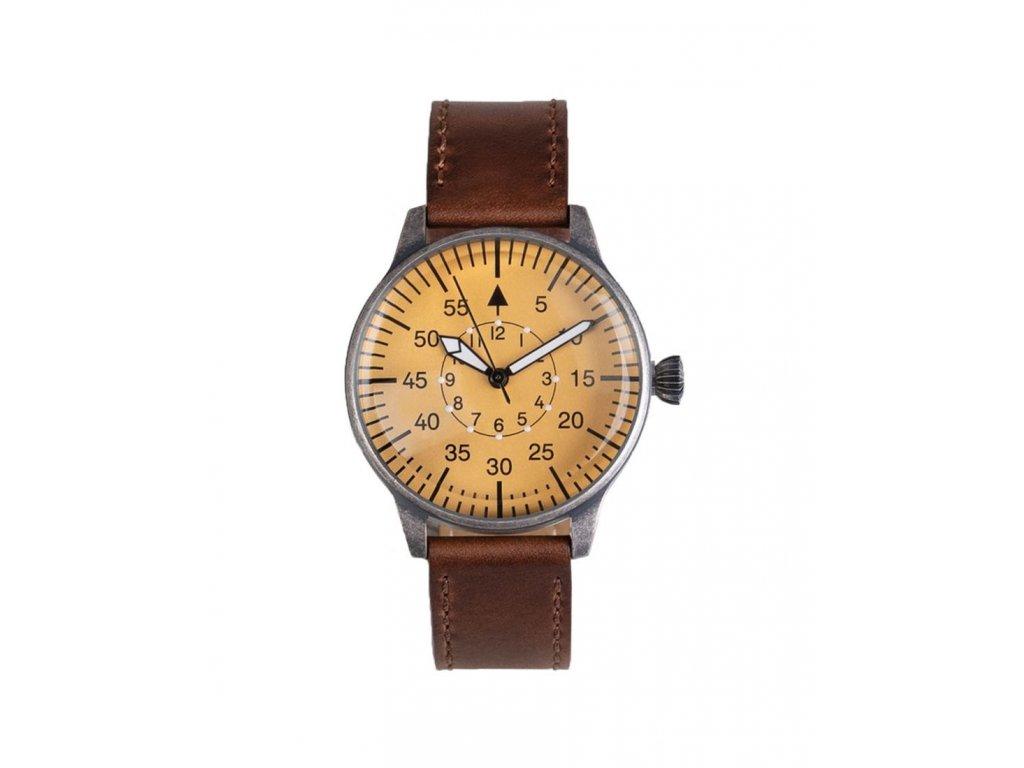 hodinky mil tec pilot quartz vintage