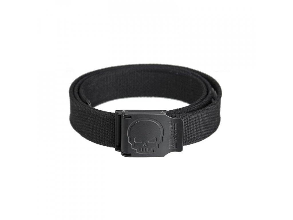 Pásek do kalhot MIL-TEC SKULL 40 mm Black